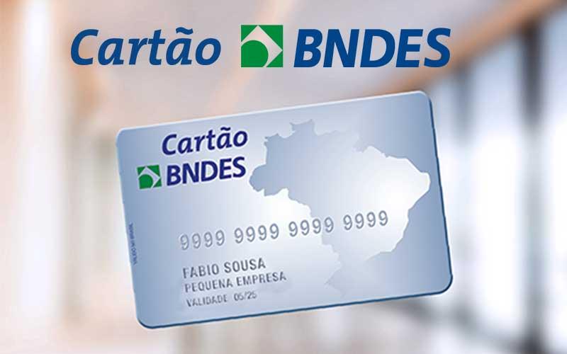 como solicitar o cartão do BNDES