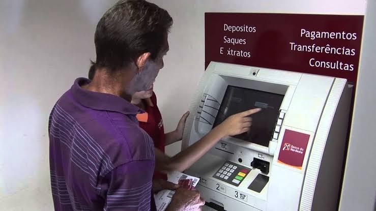 Caixa eletrônico banco do Nordeste